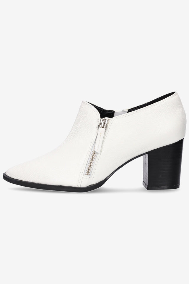 Pierre White Ankle Boot