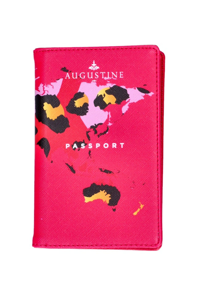Pink Leopard Passport Cover