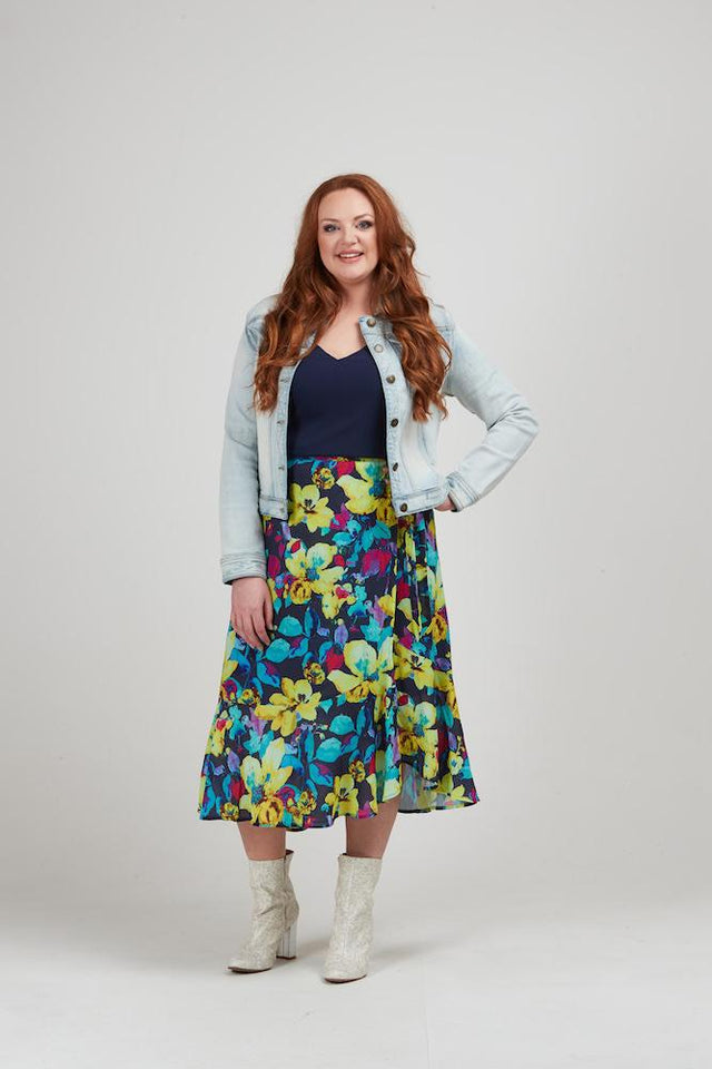 Brayden Wrap Skirt