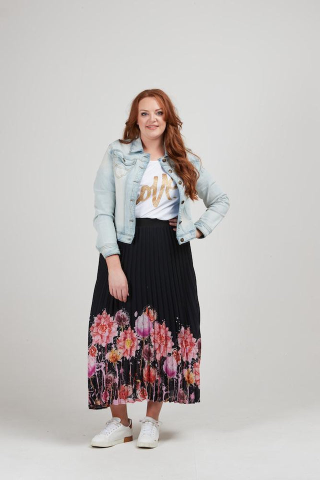 Jolene Pleated Skirt