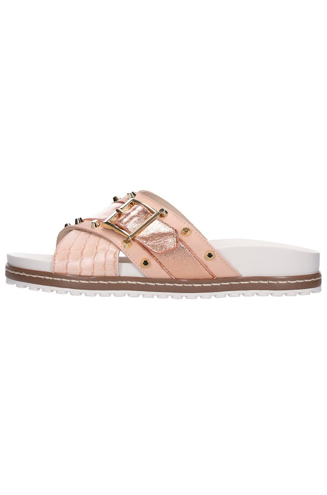 Stella Sandal Rose Gold