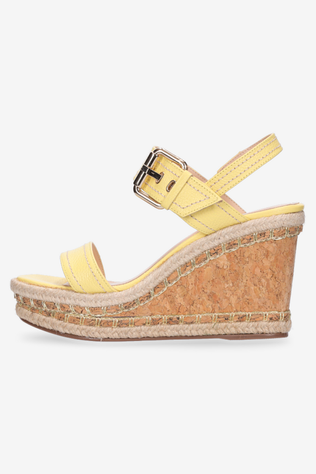 Talia Wedge Butter Yellow
