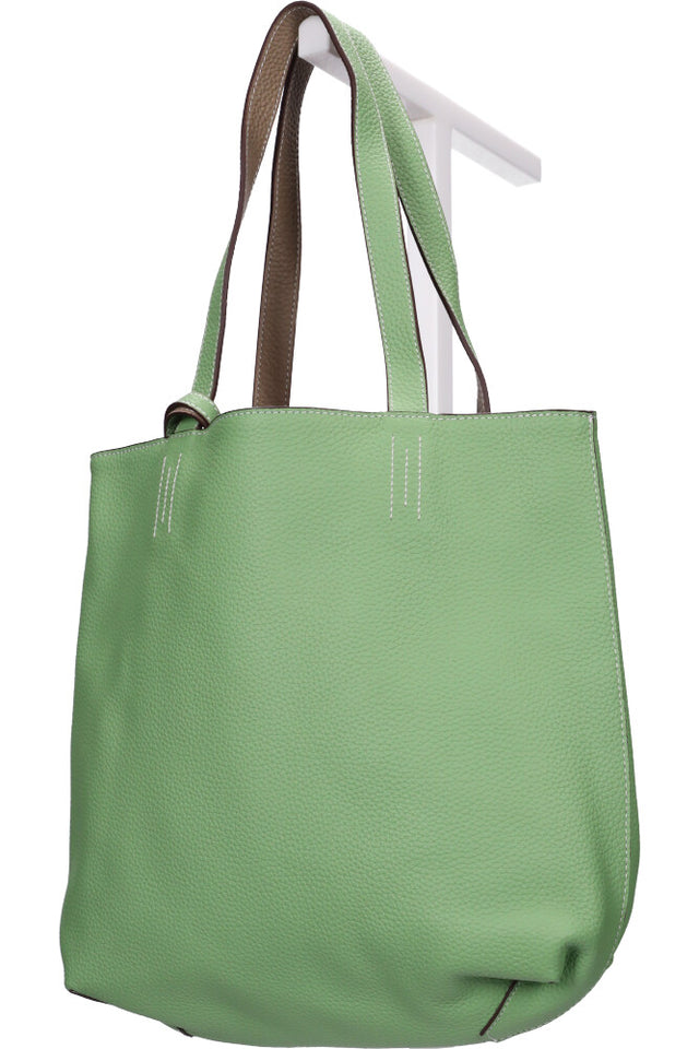 Chase Reversible Handbag Green