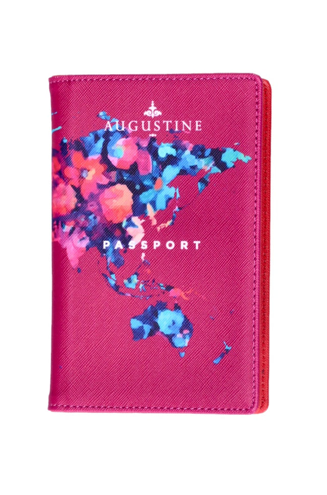 Watercolour Floral Passport Cover