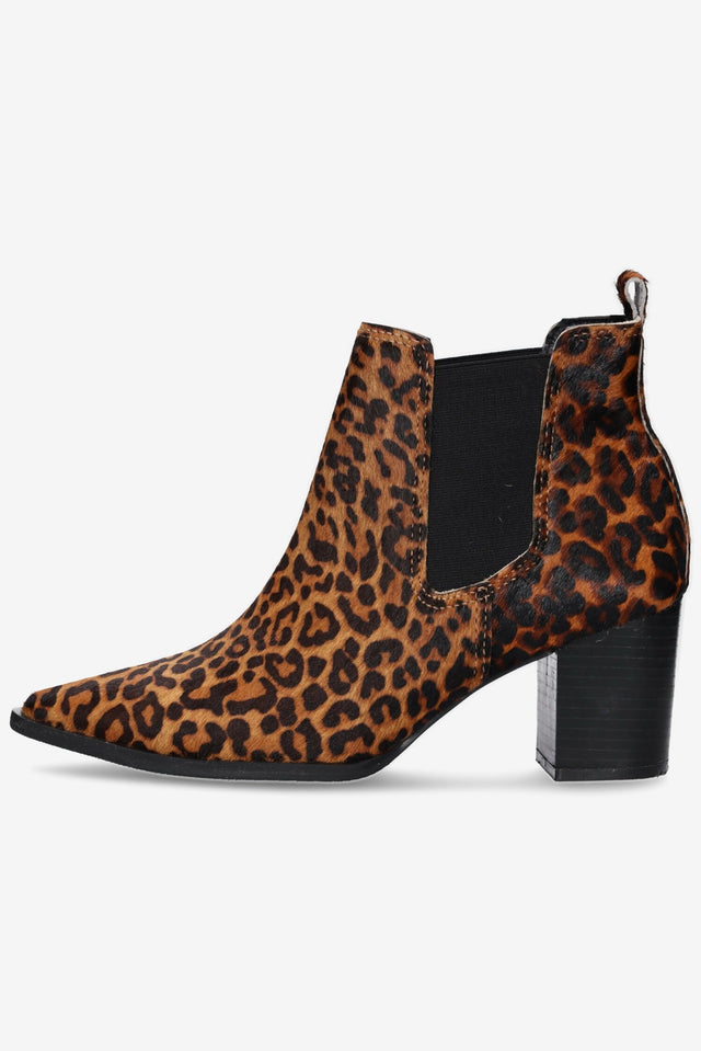 Waverly Leopard Ankle Boot