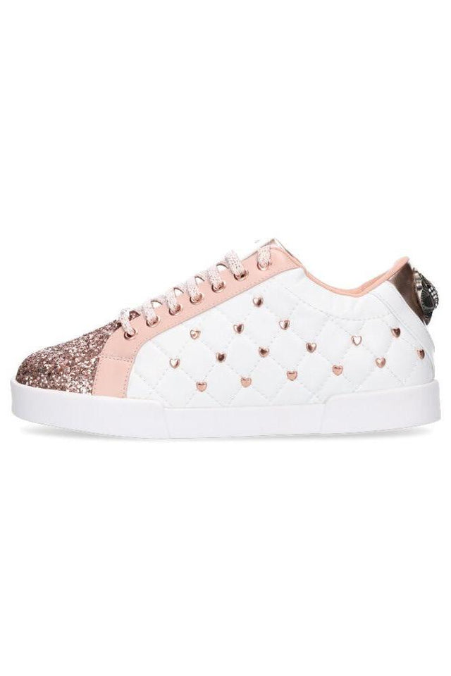 Kriss Kross Sneaker Baby Pink/Rose Gold Heart