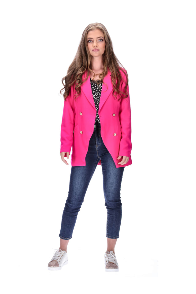 Asta Jacket Hot Pink