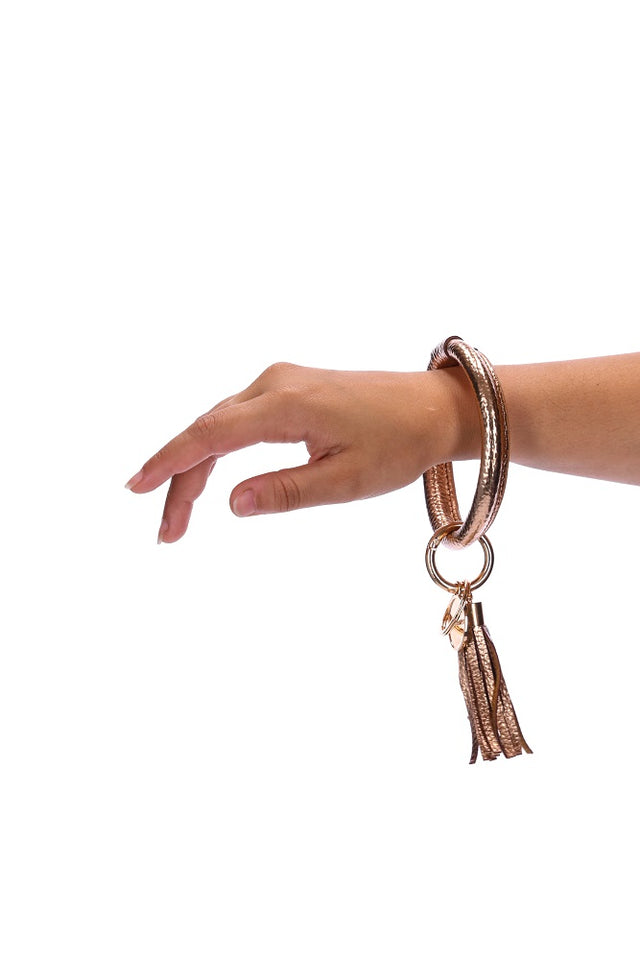 Copper Key Ring