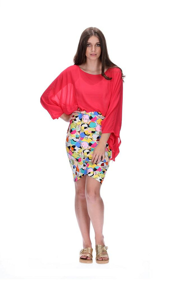 Coco Meow Skirt Long