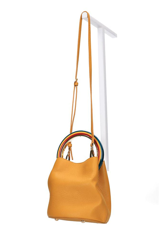 Dany Handbag Yellow Candy