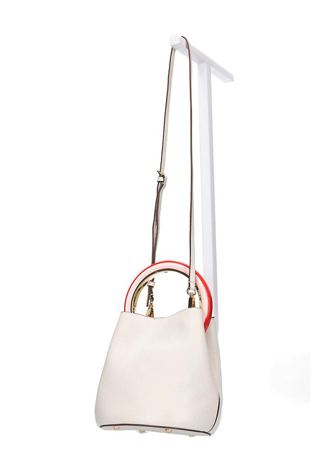 Dany Handbag Cream Candy
