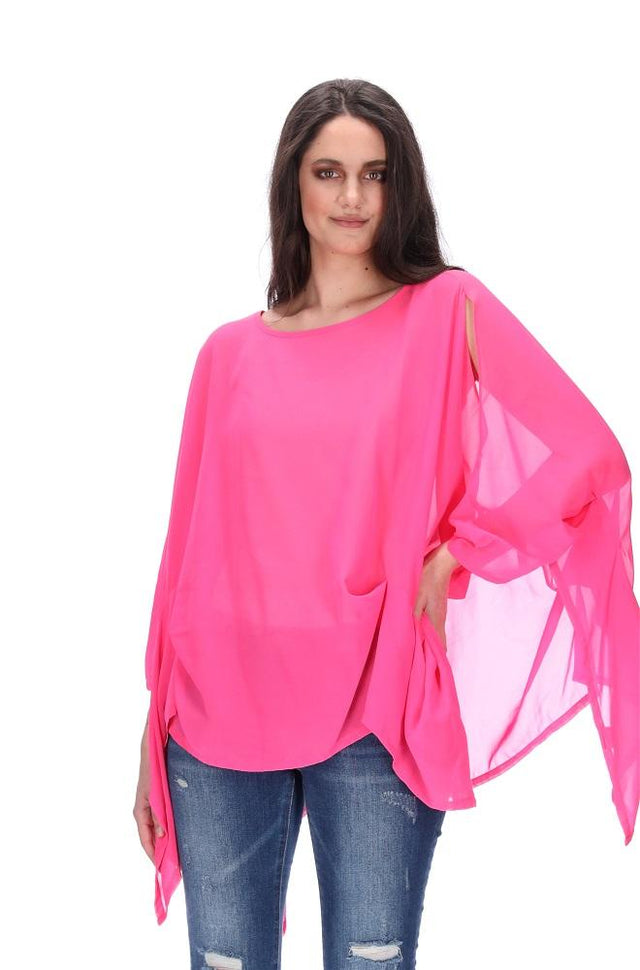 Envelope Top Pink Cerise