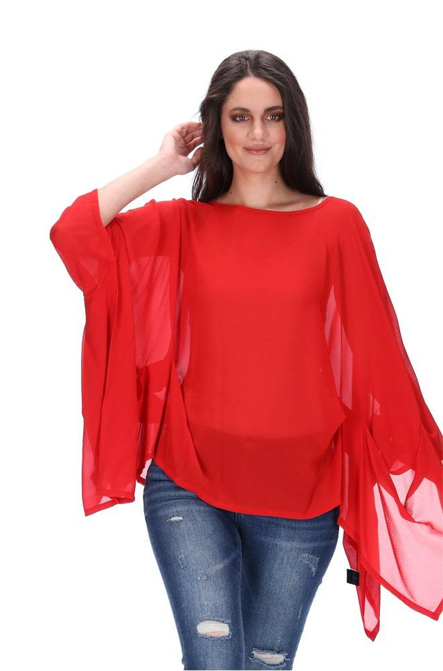 Envelope Top Red