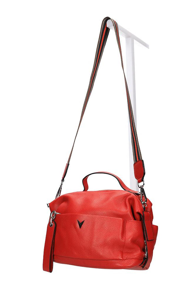 Evan Handbag Red