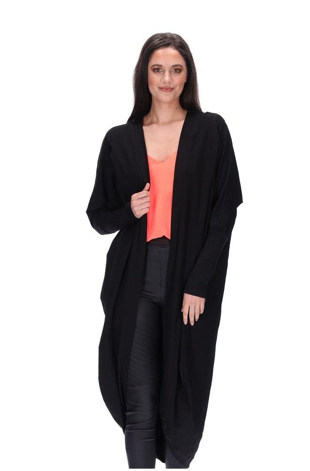 Everylove Cardi Black Long
