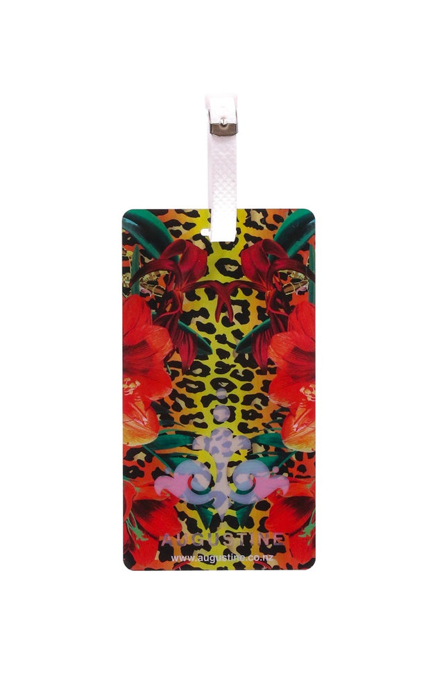 Floral Leopard Luggage Tag - 2 Pack