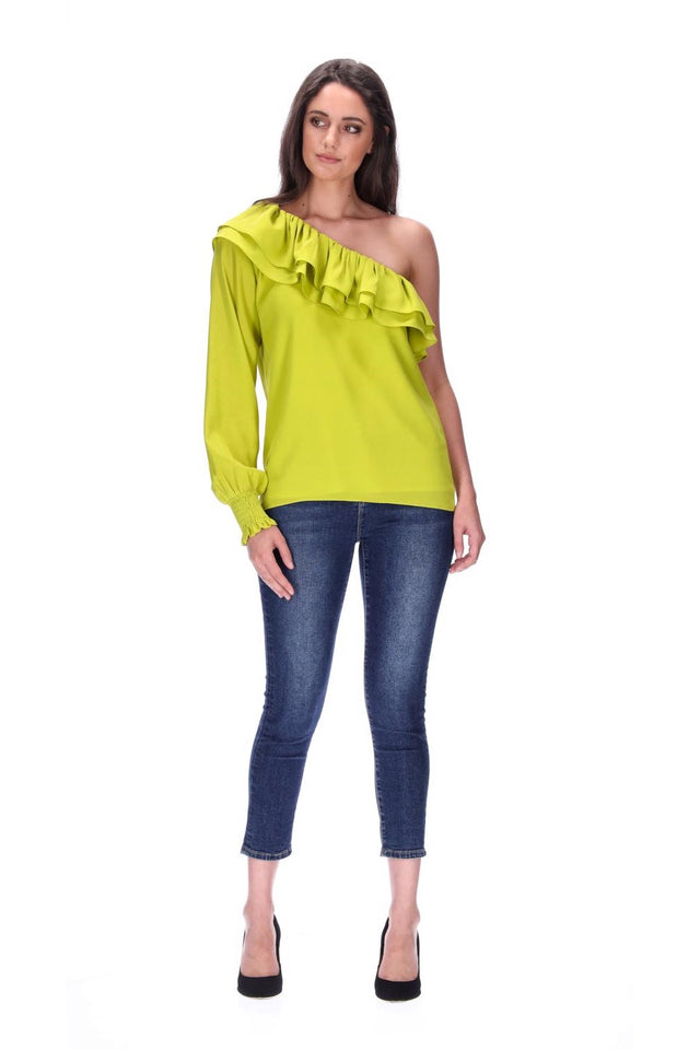 Harlow Top Lime