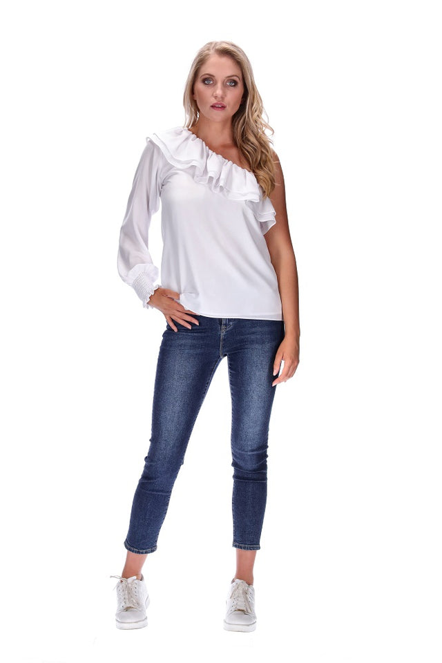 Harlow Top White