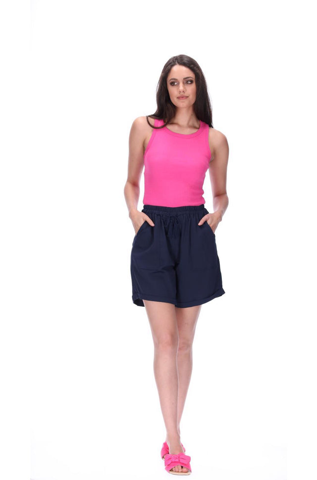 Katniss Shorts Longline Navy