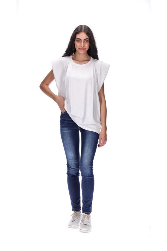 Kinsley Top White
