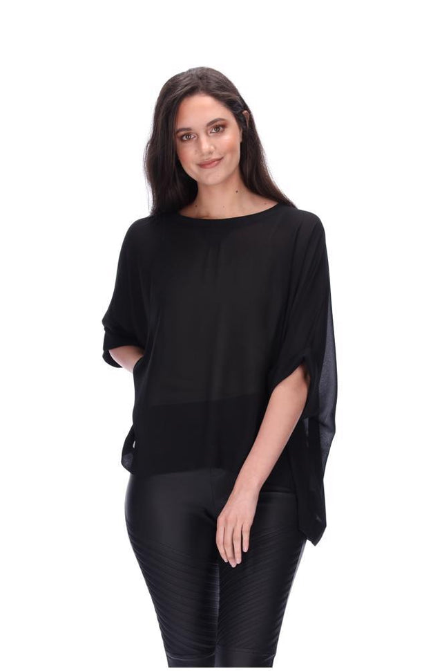 Lola Swing Top Black
