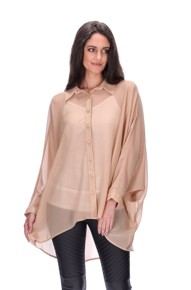 Lucindas Dream Shirt Beige