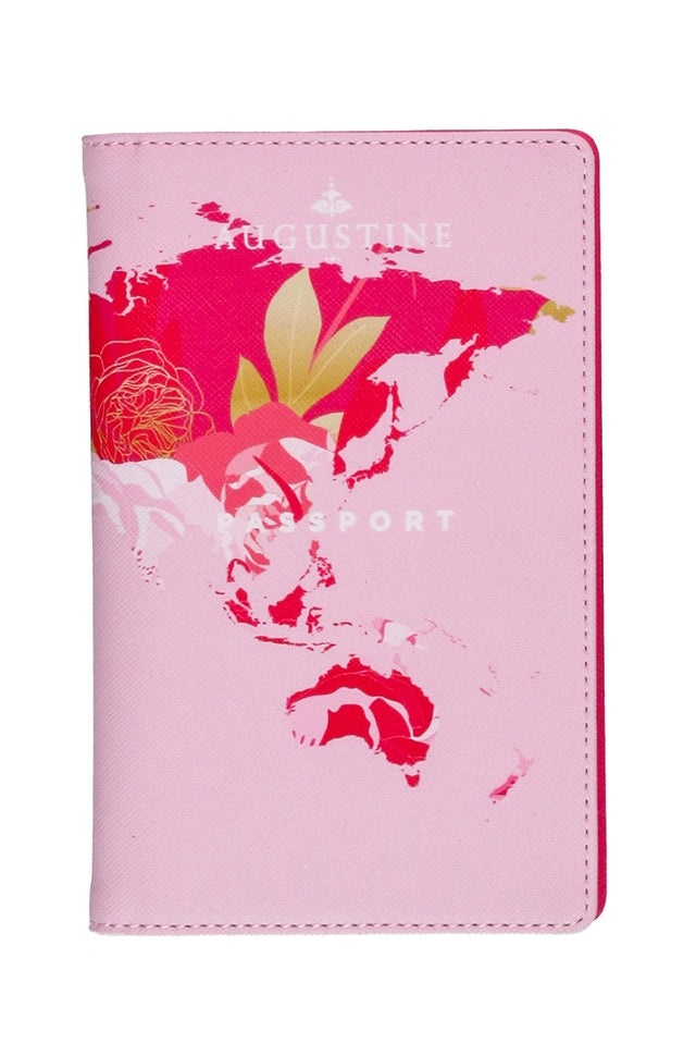 Pink Bouquet Passport Cover
