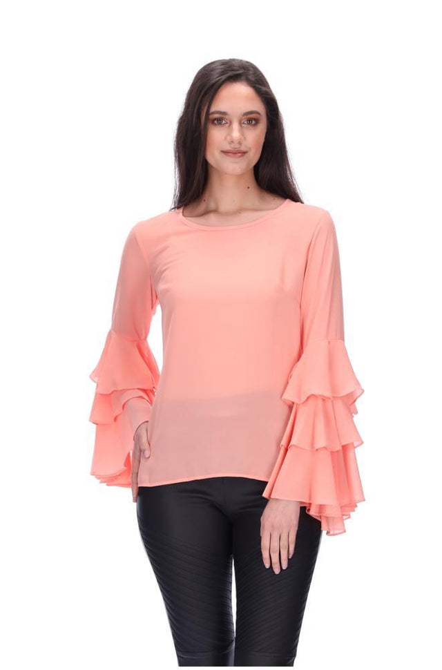 Perla Top Peach