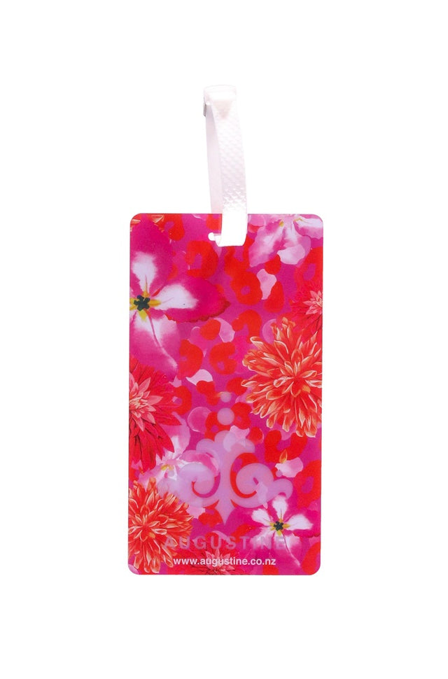 Pink Floral Luggage Tag - 2 Pack