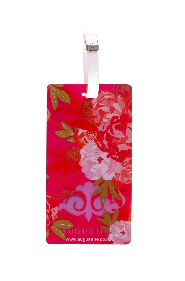 Pink Bouquet Luggage Tag - 2 Pack