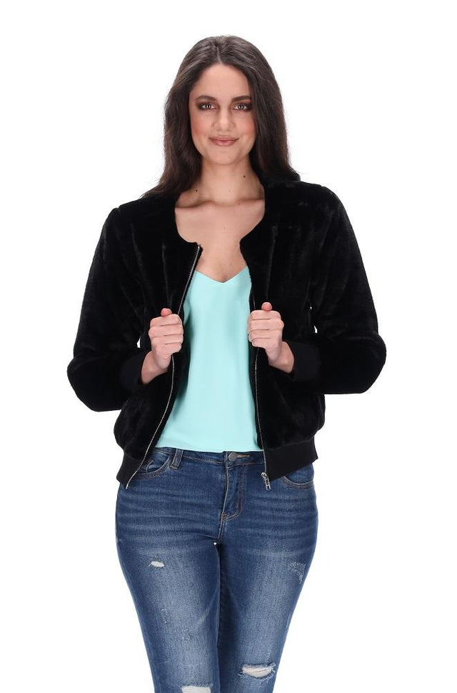 Ruby Jacket Black