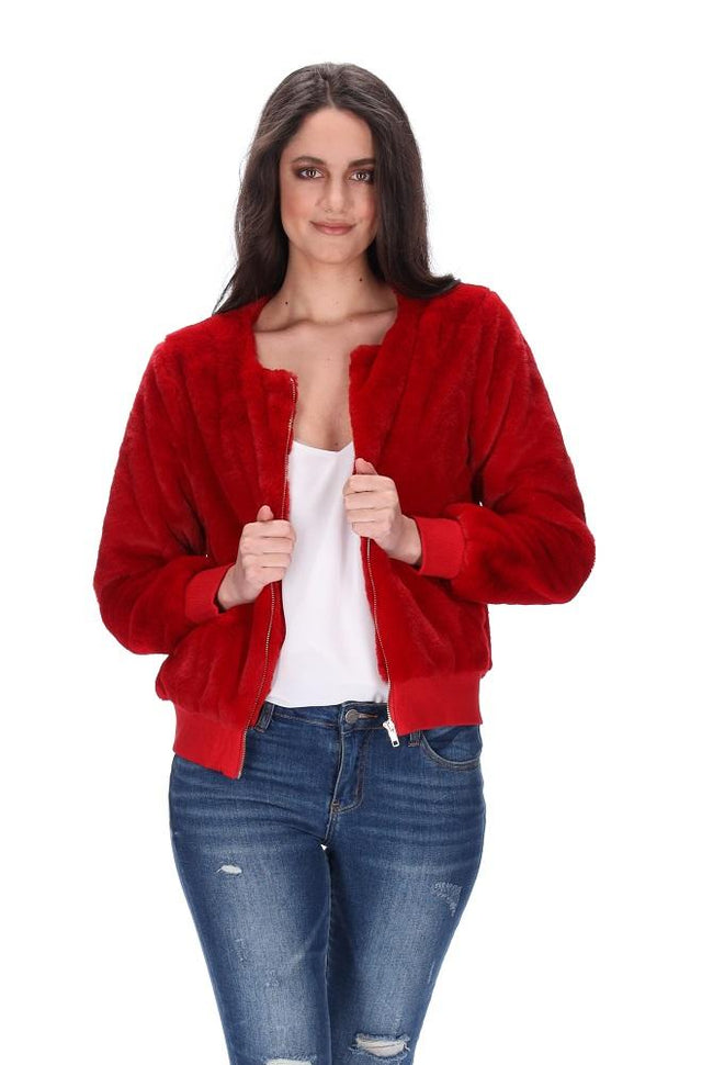 Ruby Jacket Red