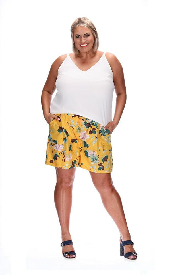 SIENNA SHORTS YELLOW