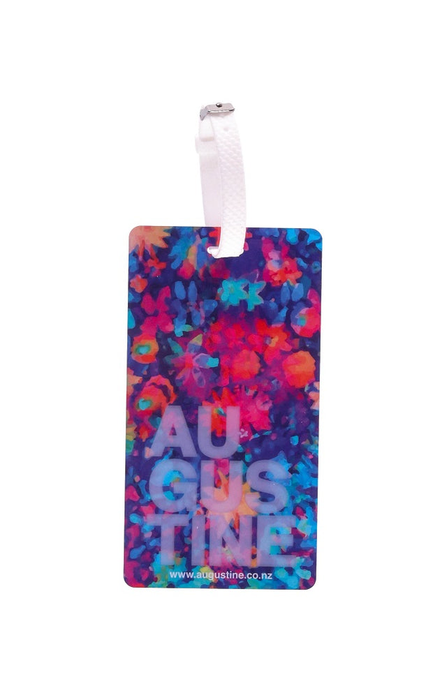 Watercolour Floral Luggage Tag - 2 Pack