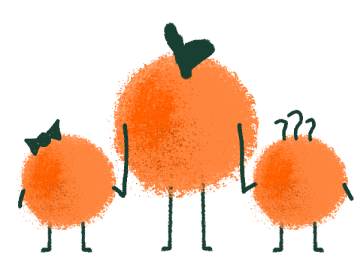 A family of oranges