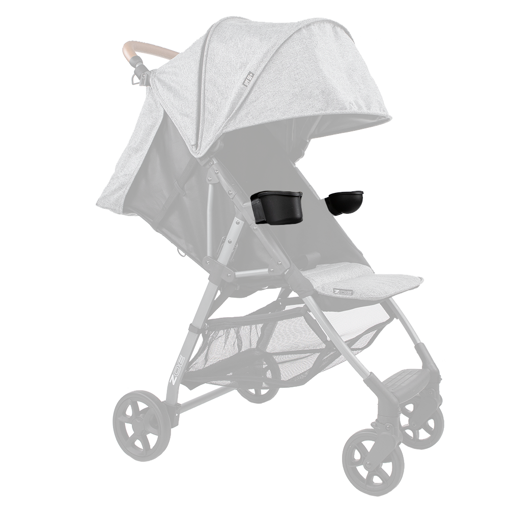 Stroller Child Snack & Cup Holder Set