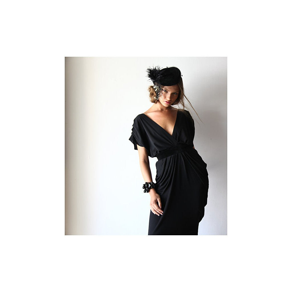 Black Maxi dress , Party dress , Evening Dress , Black Evening Dress , Long black dress , Womens max