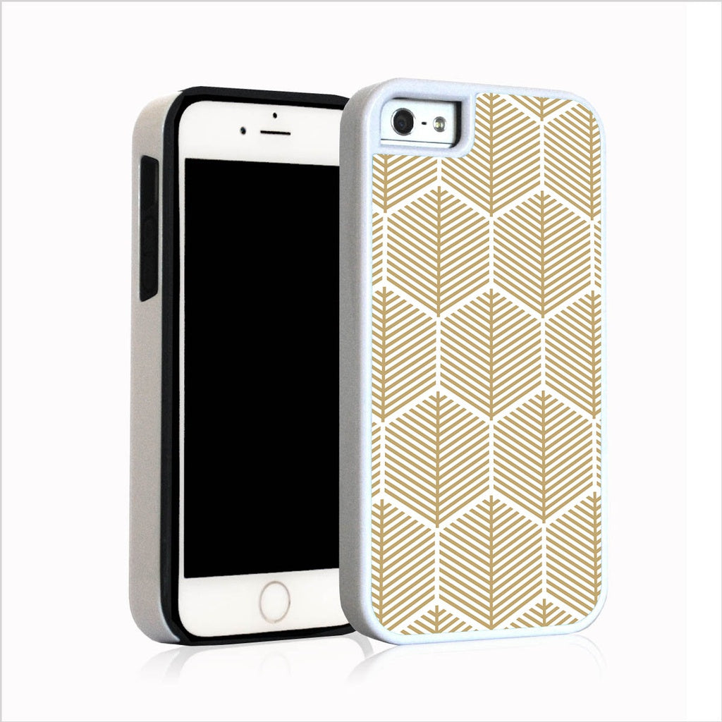 Stylized gold retro pattern for iPhone 5
