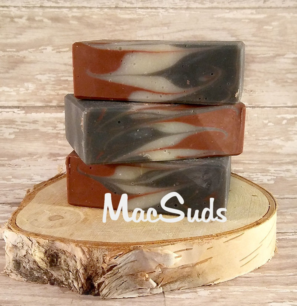 Black Raspberry handcrafted natural soap