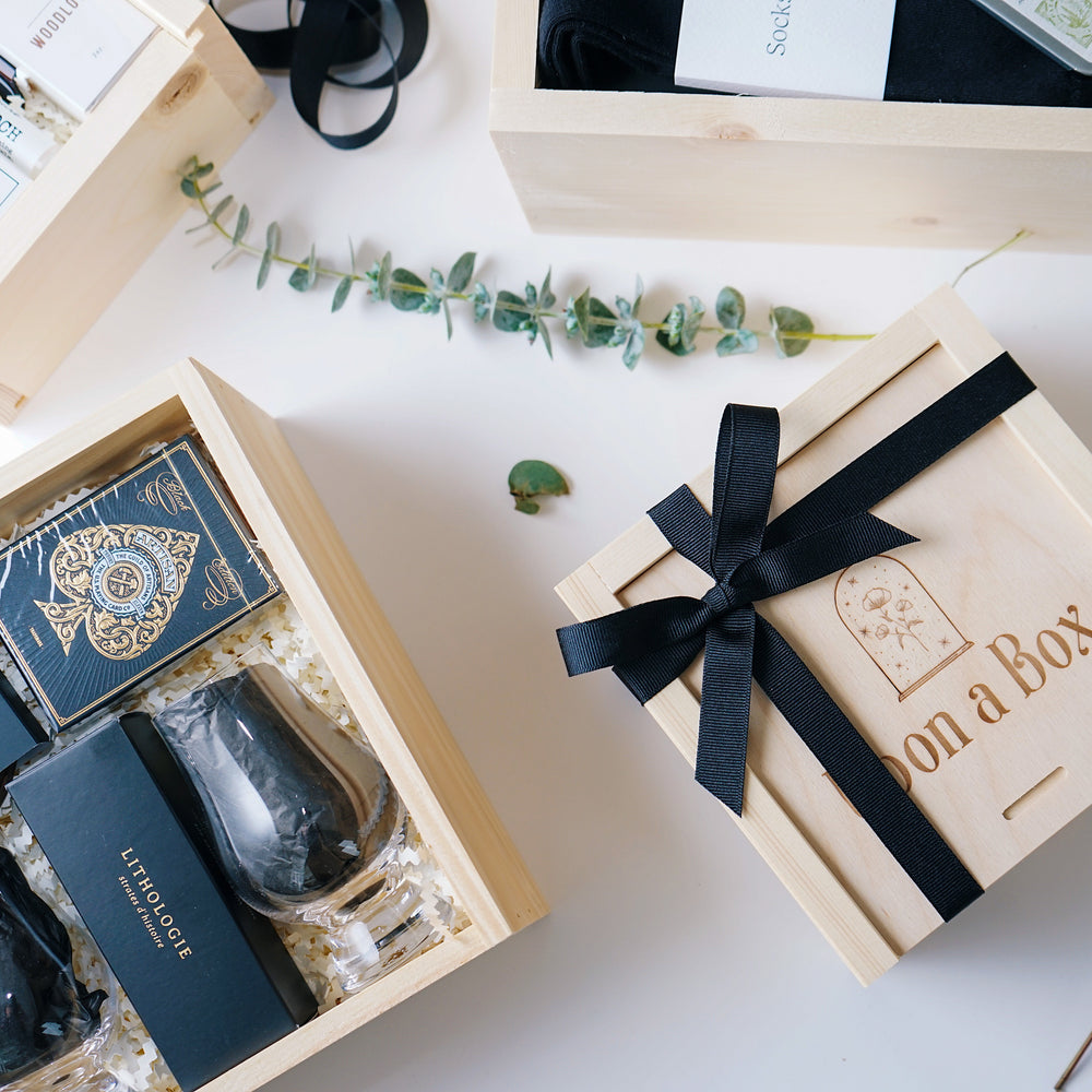 Upon a Box Custom Gift Boxes Men Collection