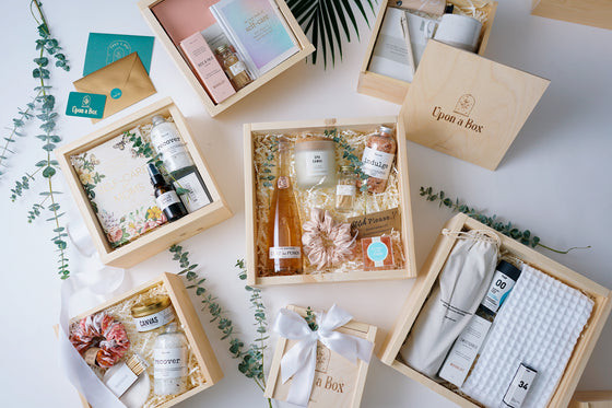 Upon a Box Curated gifts for woman collection