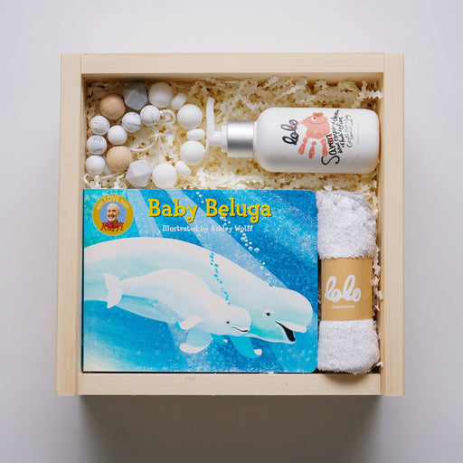 Baby Shower Gift Set - Baby Bath Gift Box | Upon A Box