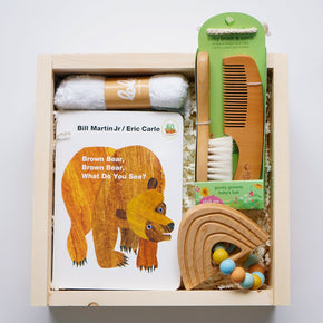 Baby Comb Box - Baby Brush and Comb Set | Upon A Box