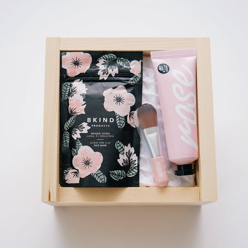 Pink Clay Mask - Face Mask Gift Box | Upon A Box