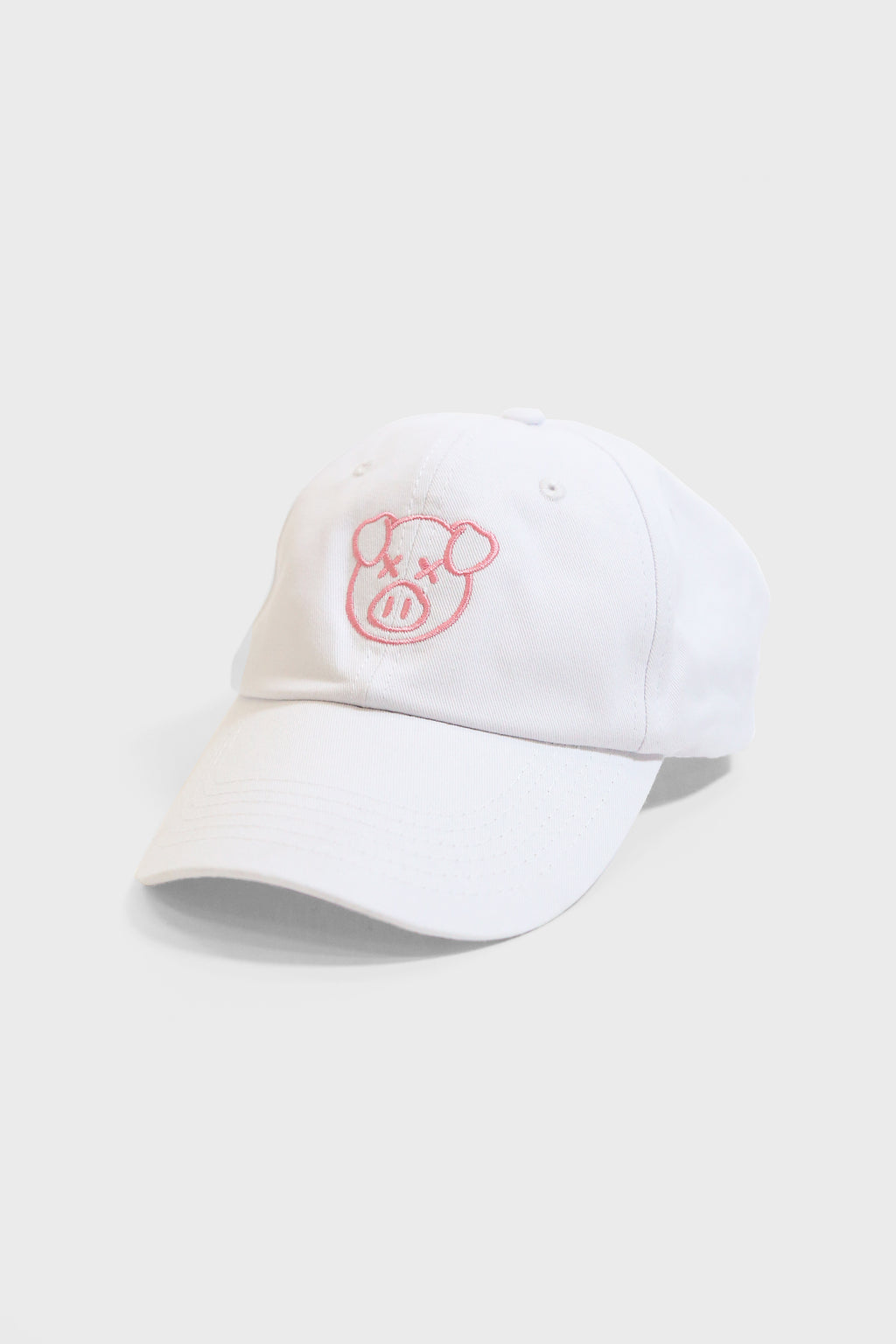 Logo Dad Hat White