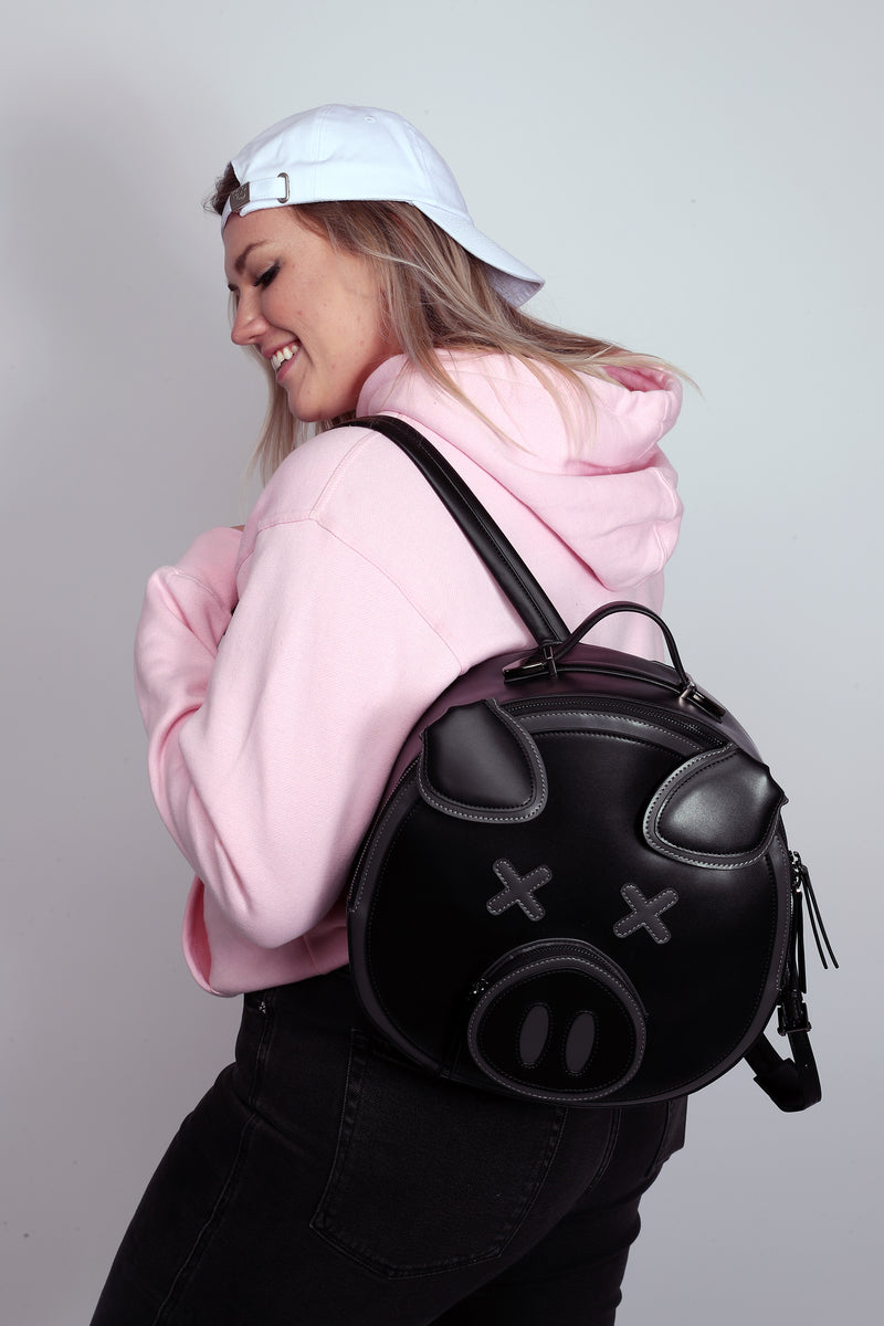 Black Pig Backpack