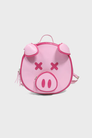 Pink Pig Backpack