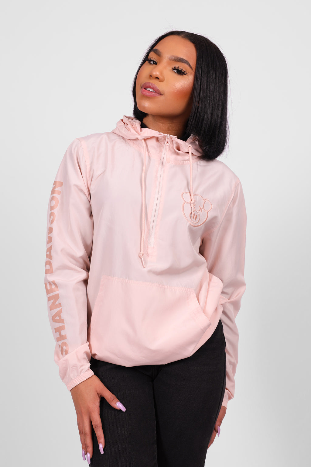 Drama Windbreaker Light Pink