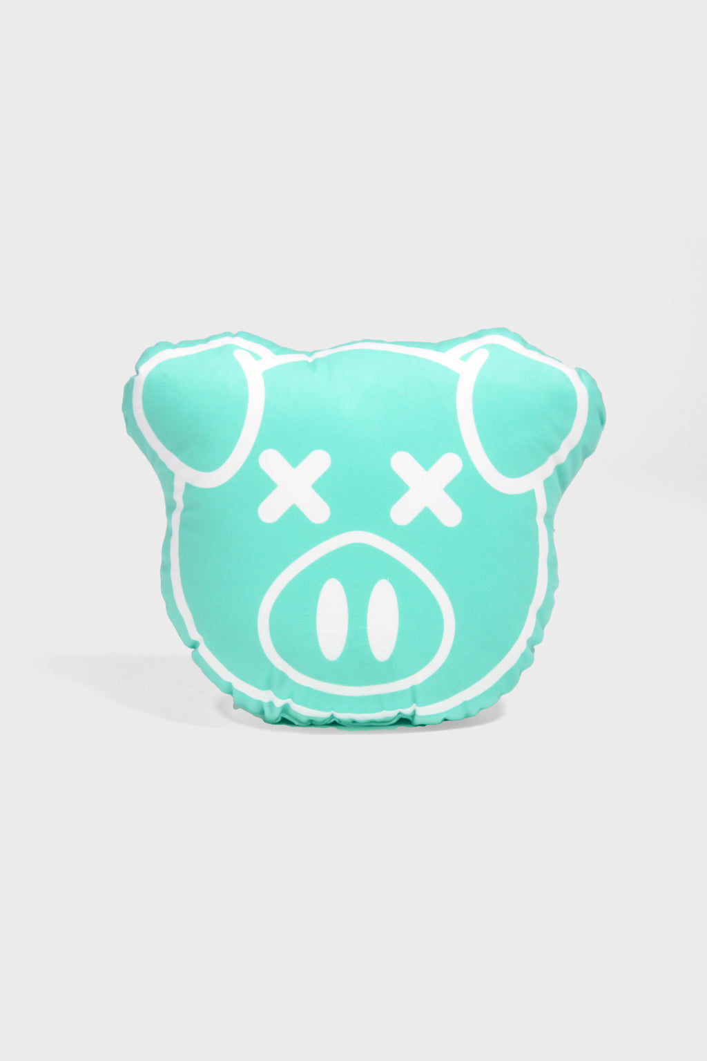 Mint Pig Pillow