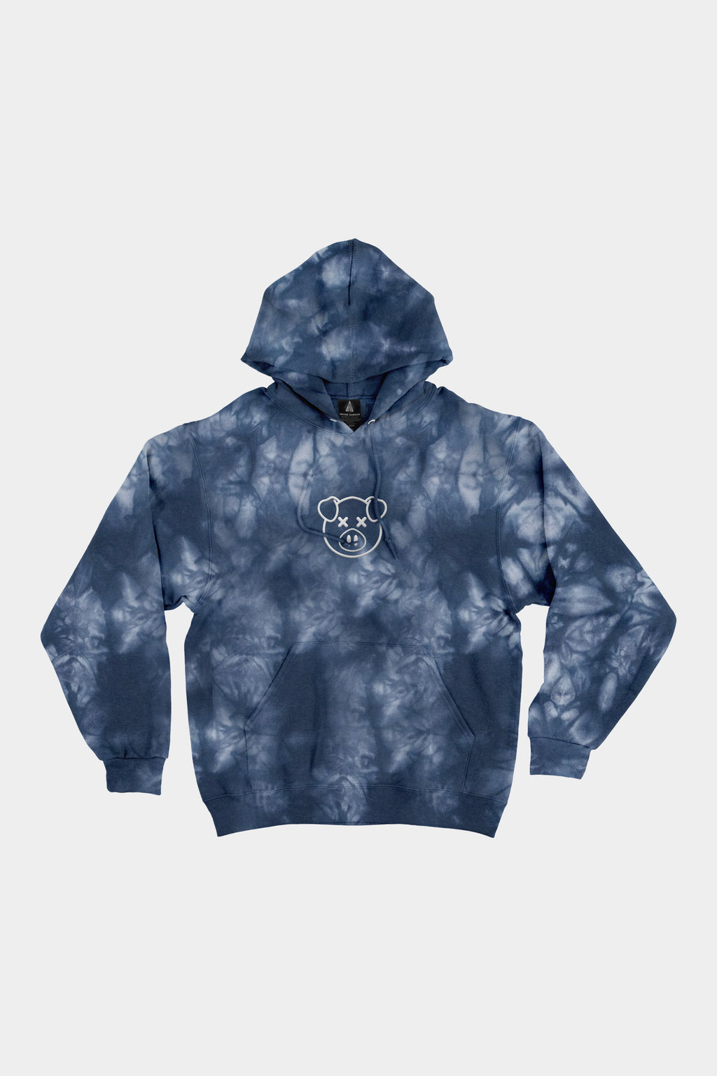Embroidered Logo Dye Hoodie